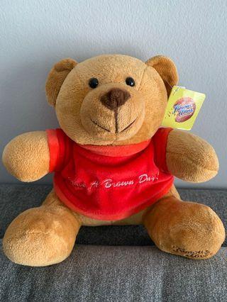 Famous Amos Teddy Bear