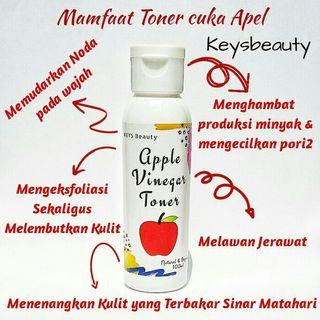 Toner cuka apel skincare routine muka berjerawat