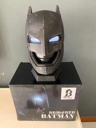 🚚 Batman vs Superman Armoured Batman helmet 1/1 scale