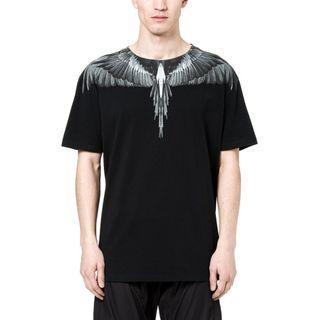 #CLEARANCE# Marcelo Burlon Black Wings Tee [XS]