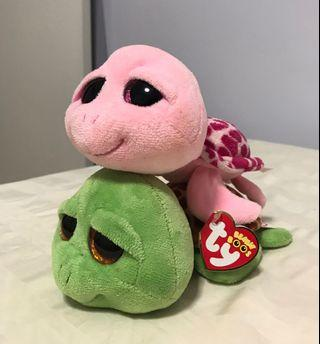 🚚 TY Soft Toys (turtles)