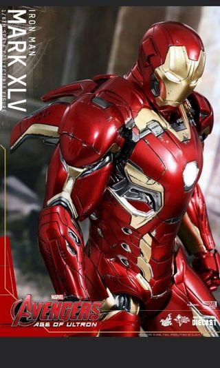 Hot Toys 1/6 Diecast Mark 45 Avengers Age Of Ultron