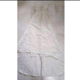 🚚 White Long Dress