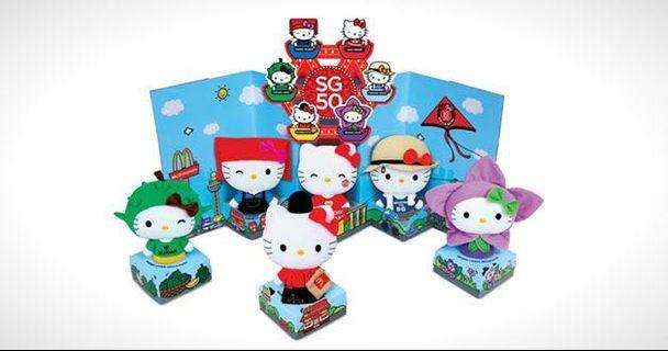🚚 Hello Kitty Plush Toys (MacDonald SG50)