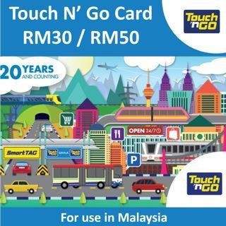 Touch n Go Card for Malaysia Toll Touch and Go