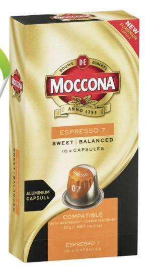Moccona Espresso 7 Coffee Capsules 咖啡粒-10粒裝(澳洲代購)