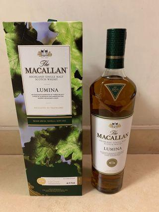 [全新]Macallan Lumina whisky single malt scotch 700ml