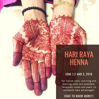 Hari Raya Henna!!