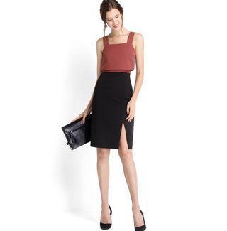 LILYPIRATES LP MISS TWIGGY DRESS IN ROSE BLACK (S)