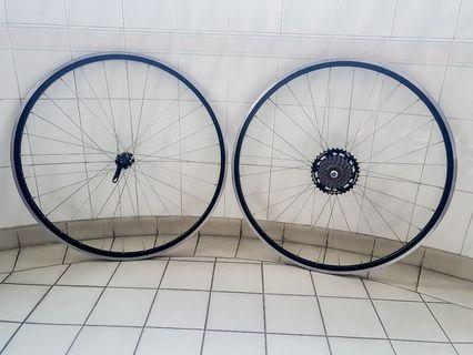 700c Road bike wheelset