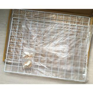 Wall Wire Grid Mesh (WHITE) - Set of 2