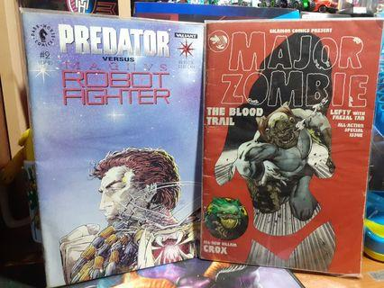 Predator and major zombie