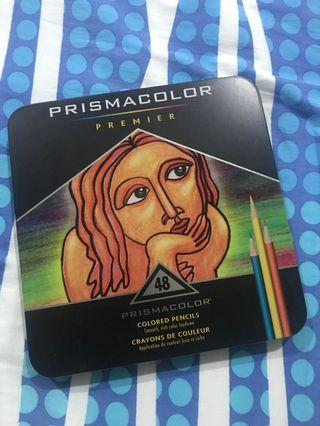 Prismacolor Premier 48 colored pencils