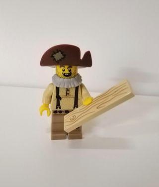 LEGO minifigure lumberjack