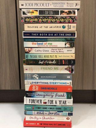 Any Fiction Books for RM20.