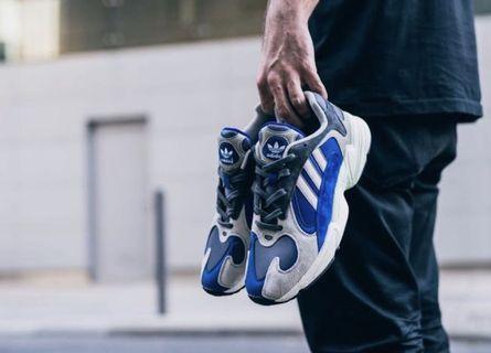 🚚 Adidas Yung 1 Sneaker White Blue