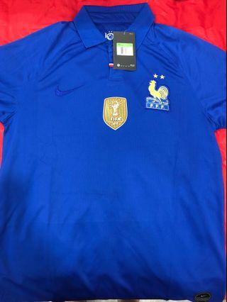 In Stock: France 100th Anniversary Jersey