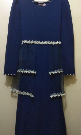 BLUE Baju Kurung (FREE POSTAGE) #GayaRaya