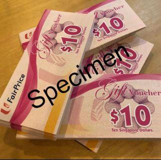 🚚 Fairprice vouchers at 6% discount