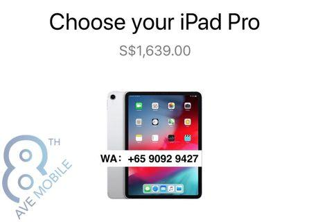 """WTS Brand New iPad Pro 11"""" Wi-Fi + Cellular 256GB"""
