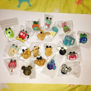 ISO 尋找Tsum Tsum 字母 piglet, stitch Disney pin 迪士尼徽章