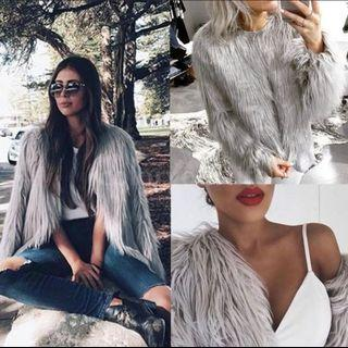 Trendy Fur coat