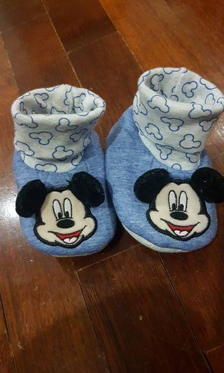 Mickey Mouse booties