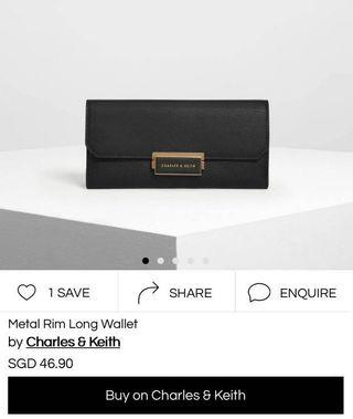 🚚 Charles & Keith Sparkle Wallet