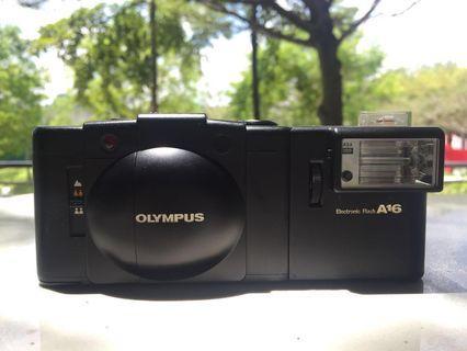 Olympus XA 2 & A16 Flash