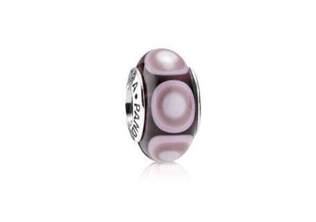 🚚 Pandora Murano Purple Glass Charm