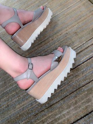 Stella McCartney 女神鞋 厚底鞋 涼鞋