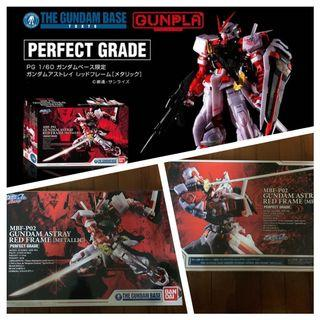 Metallic Gundam Base Limited Edition Astray Red Pg Bnib
