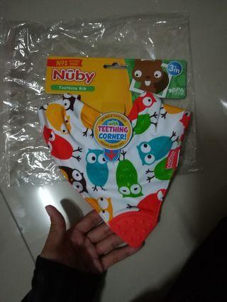 Nuby Bib Baby Teether  #GayaRaya