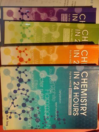 Chemistry in 24 hours(book1,2, analytical chem, industrial chem)