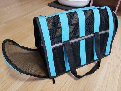 可折疊寵物手提袋 貓袋狗袋 (95%NEW)