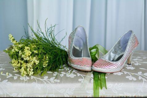 👠Wedding heels /Kasut Kahwin #GayaRaya