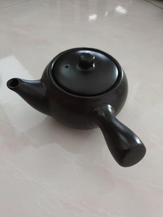 Traditional Japanese tea pot