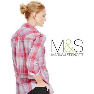 Was $39! Marks & Spencer   Checkered Skirt