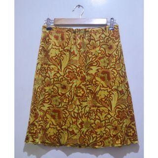 VEEKO Printed A-line Skirt