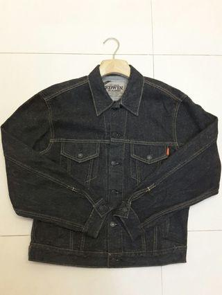 Edwin US classic black denim jacket