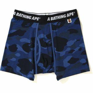 Bape Blue Camo Boxer Briefs