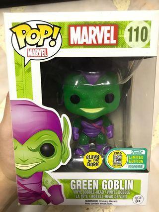 Green goblin glow funko pop