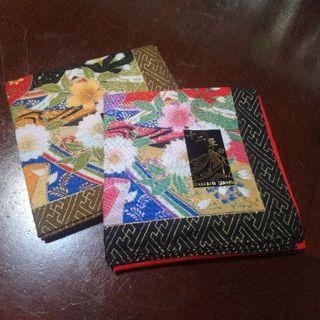 全新日本購手帕兩入