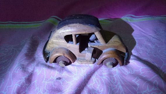 #BAPAU mobil kayu