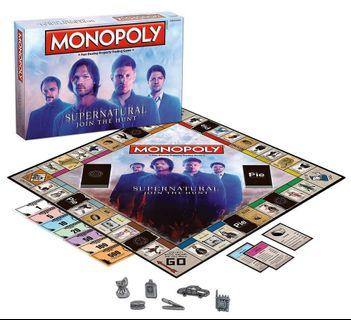 🚚 Monopoly: Supernatural Edition