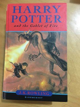 Harry Potter and the Goblet of Fire (1st Ed, 2000 copy)