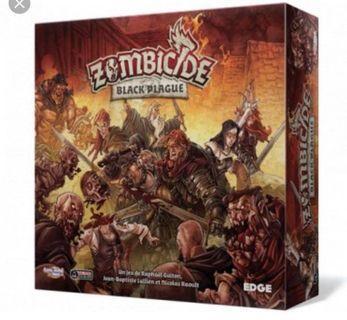 🚚 Zombicide Black Plague + Expansion