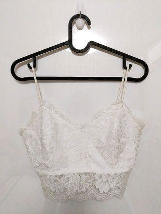 White Lace Bralet