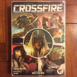 Crossfire party game