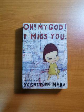 [MOVING SALE] Oh! My God! I Miss You. 30 Postcards by Yoshitomo Nara